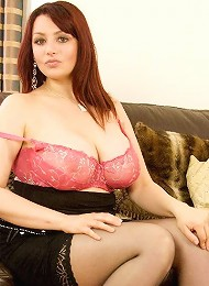 When you think of beautiful BBWs you will think of Hannah Callow from now on. This woman has the most amazing natural huge tits and l